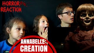 "ANNABELLE: CREATION - ""Secret""/""Origin""/""Presence"" TV Spot Reaction!!"