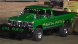 Pro Street Legal 4x4 Truck Pull - Westmoreland County Fair 2016