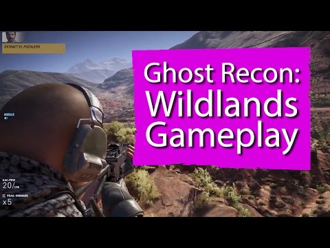 9 minutes of Ghost Recon: Wildands gameplay - Ubisoft E3 2016
