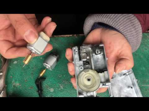 Replace ELV motor