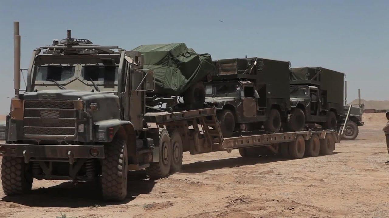Retrograde Convoy Marine Unmanned Aerial Vehicle