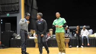 "3 South African boys singing ""Joy - The Soil"""
