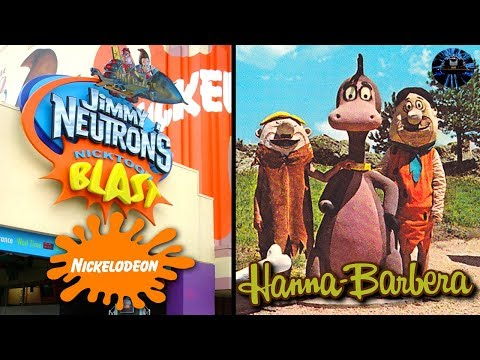 Yesterworld: 5 Abandoned Nickelodeon & Hanna Barbara Attractions And Theme Parks