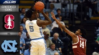 Stanford vs. North Carolina Condensed Game | 2018-19 ACC Basketball
