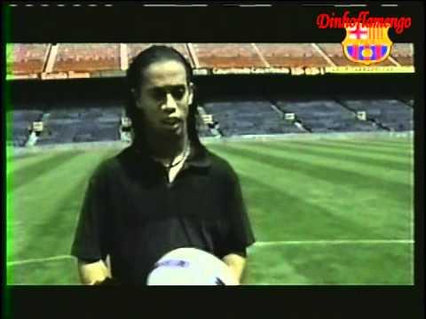 "Ronaldinho ""The World Best player"""