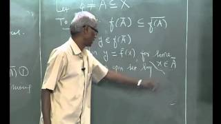 Continuity and Related Concepts   Chapter 1 video Lec-5