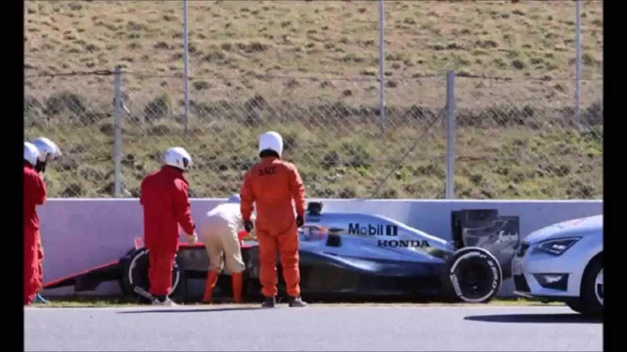 Circuito Fernando Alonso Accidente : F fernando alonso fernando alonso se sale de pista