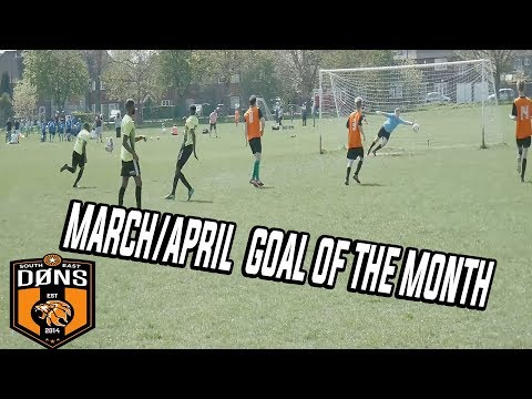 March/April - GOAL OF THE MONTH - SE Dons Sunday League