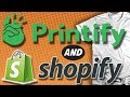 Start a T-shirt business in 20 Mins : Printify And Shopify Tutorial