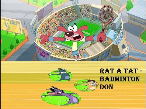 Rat-A-Tat   'TENNIS MATCH DON'   Chotoonz   Kids Funny Cartoon Videos