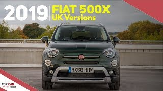 2019 Fiat 500X UK - Original Italian Crossover