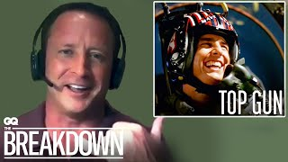 Fighter Pilot Breaks Down Flying Scenes from Movies | GQ