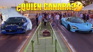 PRIMERA VEZ EN EL AUTODROMO CON MCLAREN 720S VS CAMARO CON NITRO ¿APUESTA?    ALFREDO VALENZUELA