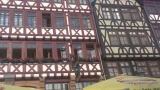 В историческом центре Франкфурта
