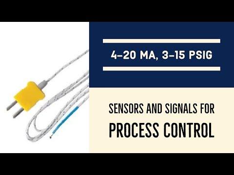 Sensors and Signals for Process Control