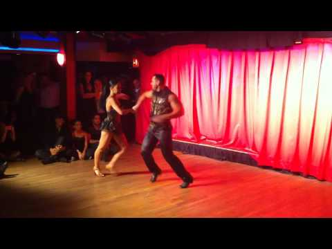 New York Style Salsa Dancing - Marcus and Diana