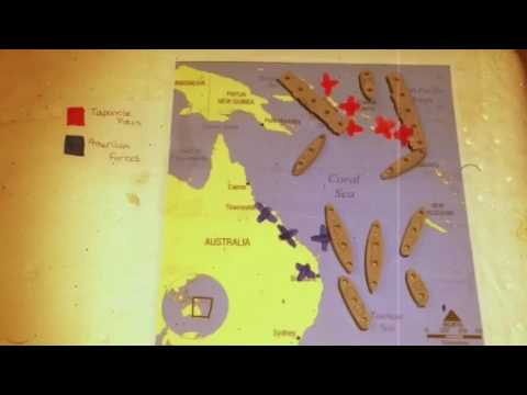 Battle of the Coral Sea Stop Motion