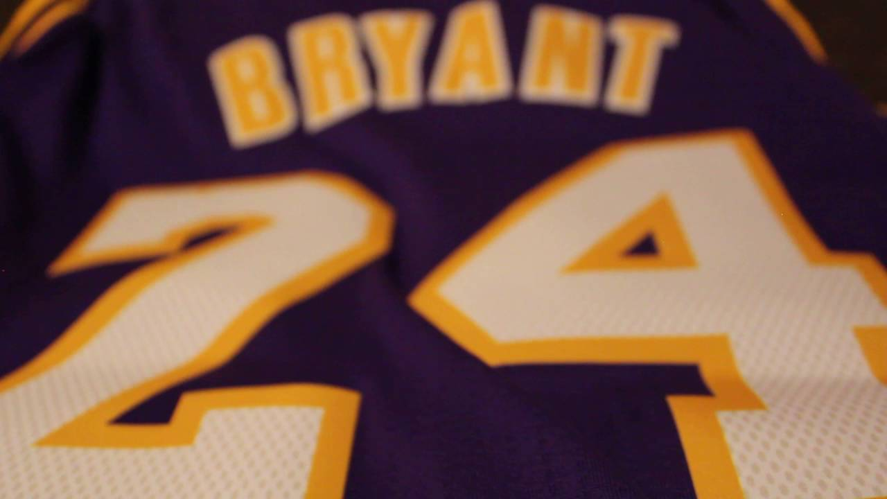 3fc1c2ea1 Unpacking New 2016 Swingman Kobe Bryant jersey - YouTube