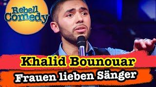 """Khalid Bounouar: """"Stehen Frauen auf Männer, die singen können?"""""""