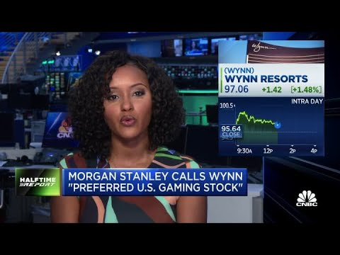 Morgan Stanley calls Wynn resorts the 'preferred U.S. gaming stock'