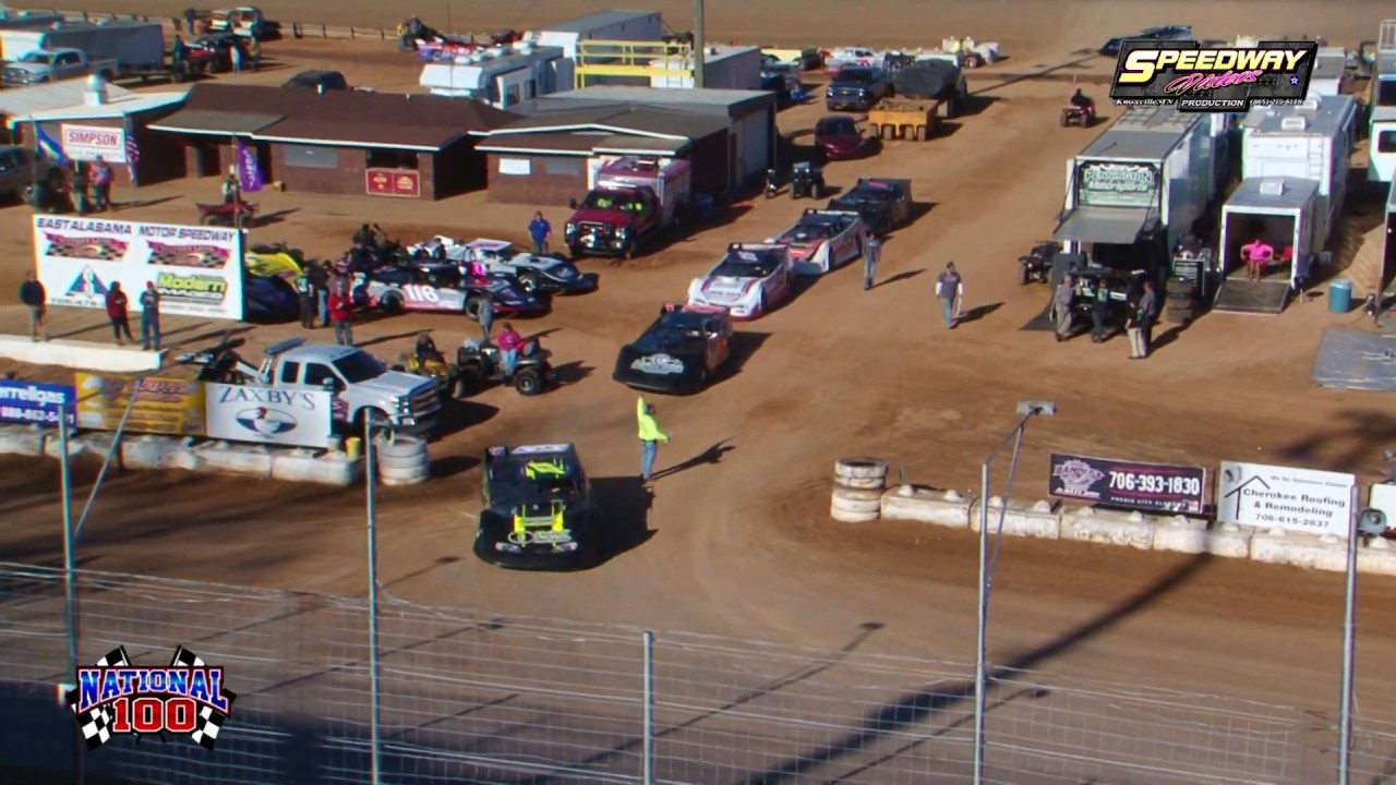 EAMS Super Late Model Qualifying @ The National 100 Jan. 26 27 , 2019