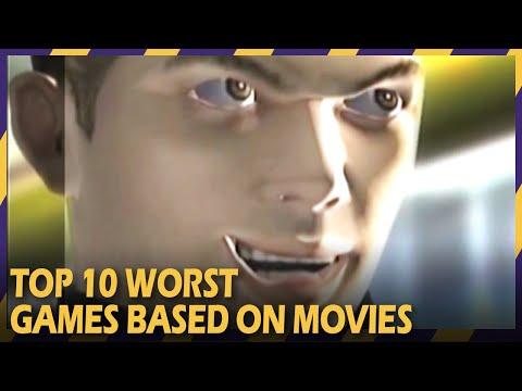 Top 10 Worst Video Games Based On Movies | Terrible Game Movie Tie-ins
