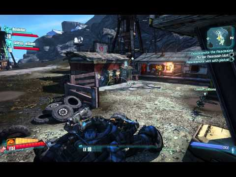 BL2 Co-op Gaige, Zero & Axton: The Name Game & Medical Mystery
