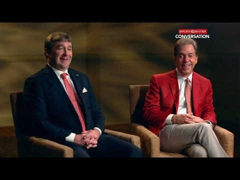 It's nothing personal between Nick Saban and Kirby Smart ahead of national title game | ESPN