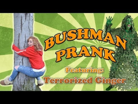FUNNY EASTER BUSHMAN SCARE PRANK #236 Collaboration Feat @terrorizedging