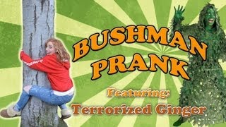 EASTER BUSHMAN: Terrorized Ginger gets in the Ghillie Suit! @terrorizedging -RRyanlewis-