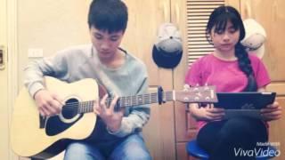 [Funny Guitar Shop] - [Võ Hoài Phúc] - Hoang Mang - Guitar Cover By Quang Anh Tallica ft Thuý Bé Tí