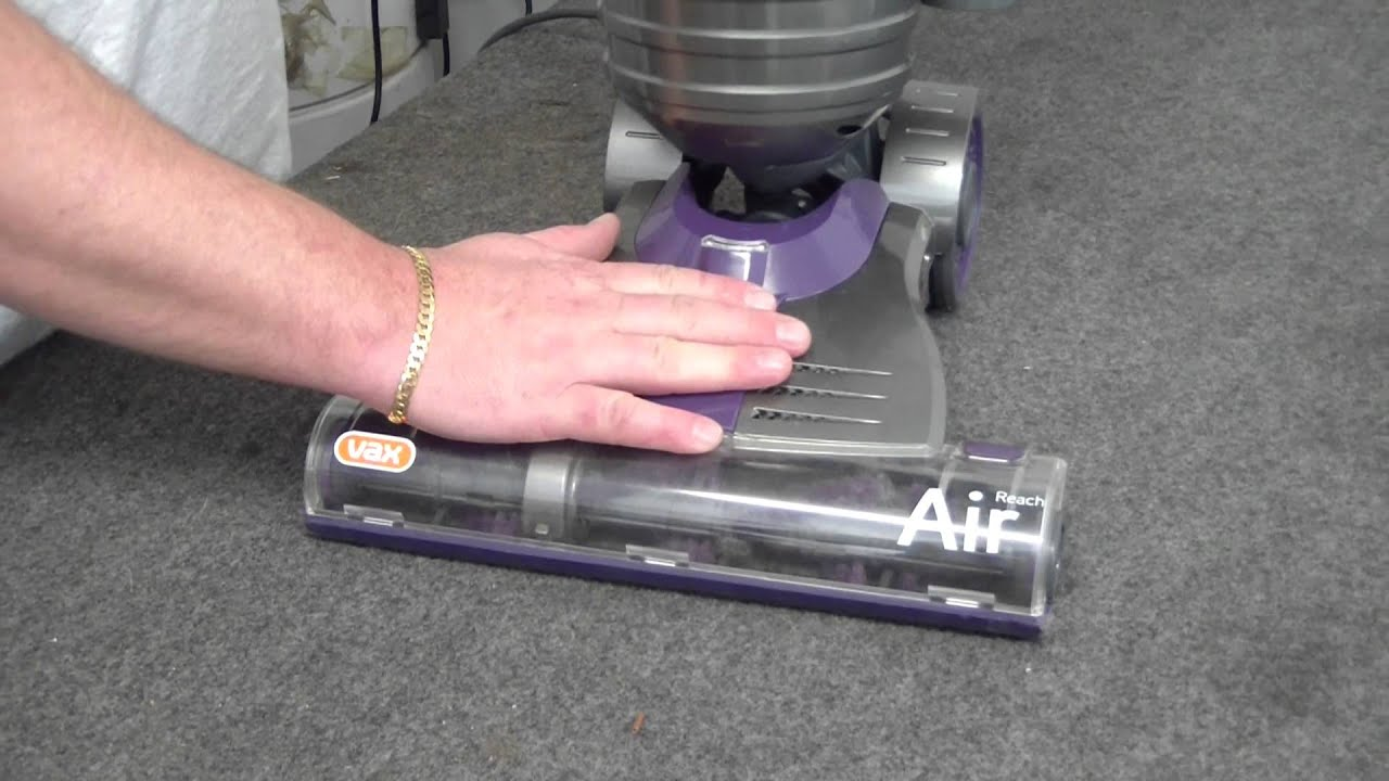 How To Fix Your Vax Air Reach Vacuum If The Brush Is Not Spinning 31ah64fg700 Parts List And Diagram 2012 Ereplacementpartscom