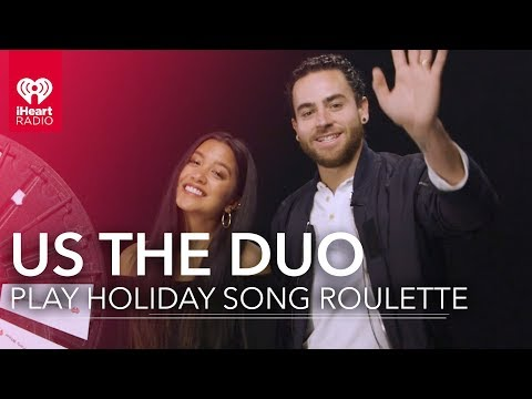 Us the Duo Sing Christmas Carols! | Holiday Roulette