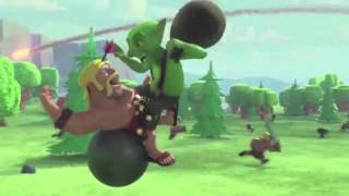 Clash Of Clans - Flight Of The Barbarian - Official TV Animation Advert/Commercial
