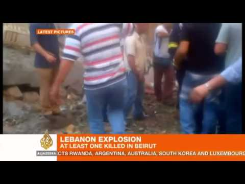 Huge bomb blast rocks central Beirut
