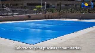 Montaje cobertor piscina for Mp3 para piscina