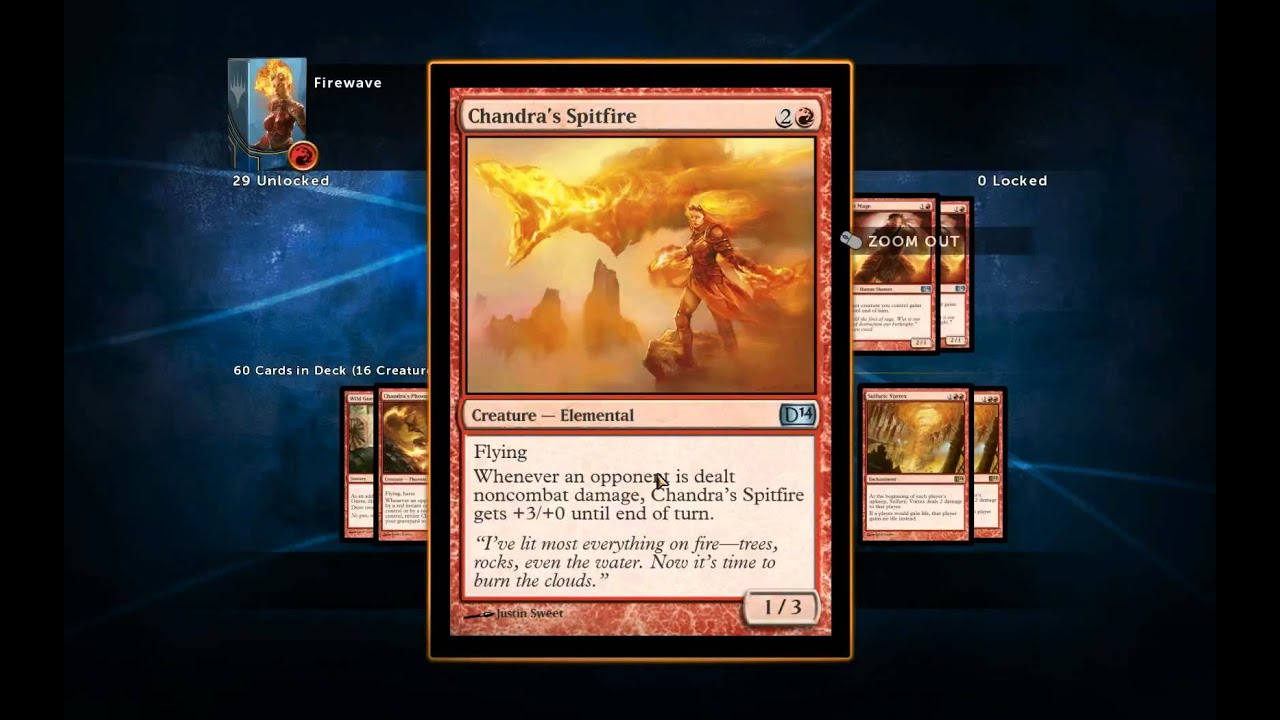 how to build a magic deck 2014