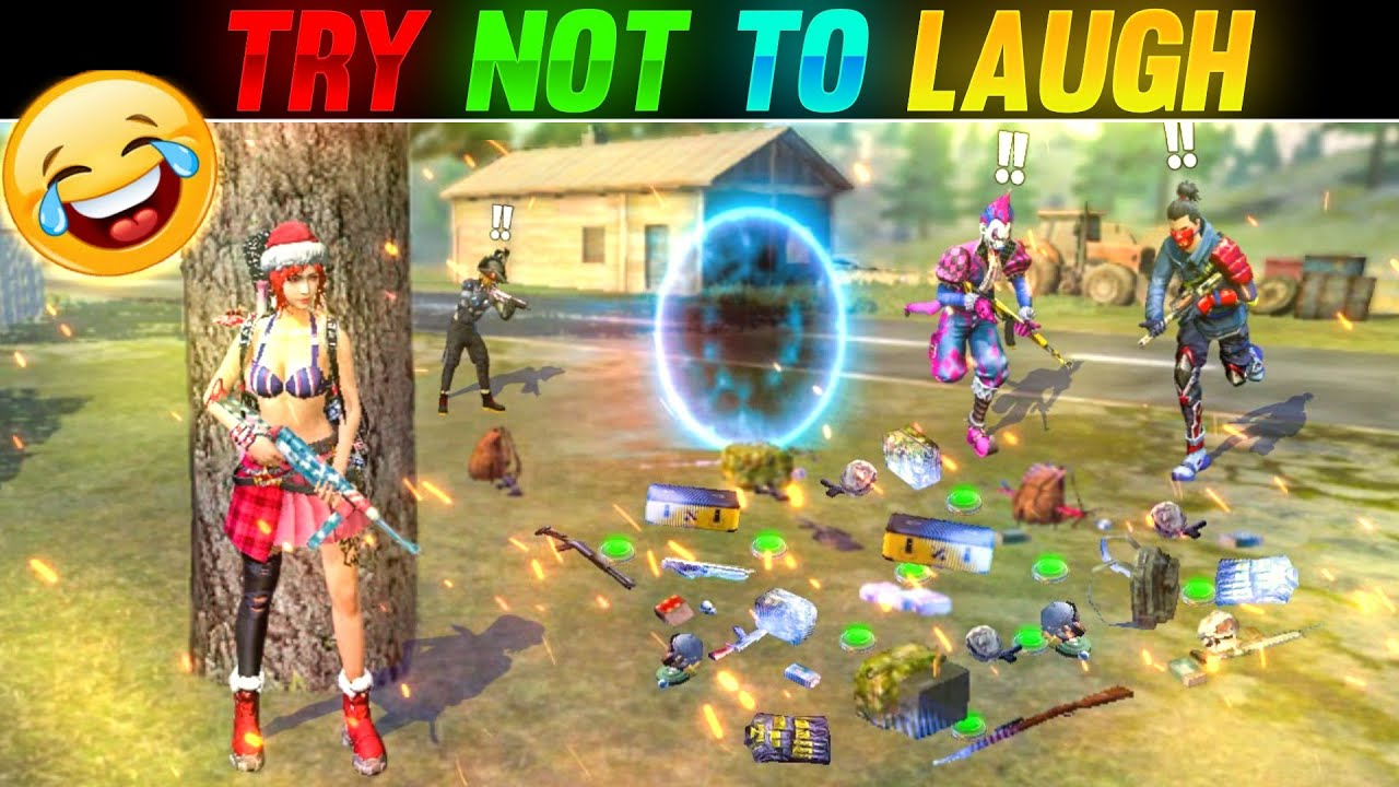 Try Not to Laugh Moments of Clown Gaming 😂🤣😂🤣 - Garena Free Fire