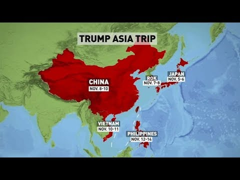 10 days, five countries: What to expect from Trump's Asia visit
