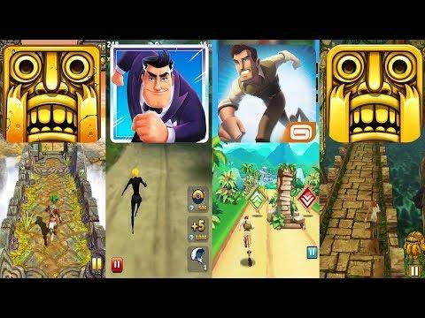 Temple Run 2 Sky Summit Vs Agent Dash Vs Danger Dash Vs Temple Run - Endless Run Gameplay