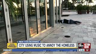 Florida city hopes 'Baby Shark' song will drive homeless from park