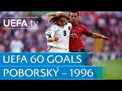 Karel Poborský V Portugal, 1996: 60 Great UEFA Goals