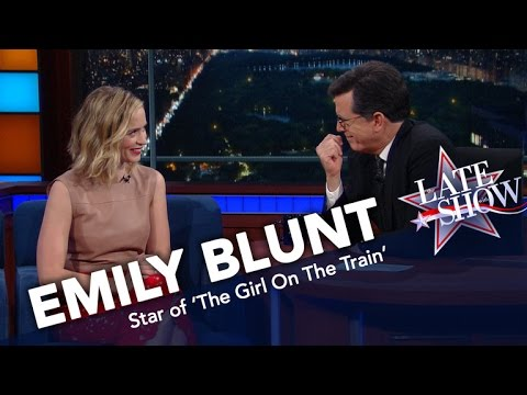 Emily Blunt's Kids Are Picking Up Their Dad's American Accent clip