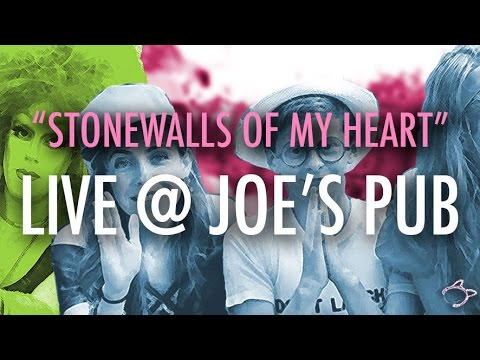 "HALF STRADDLE FOREVER LIVE @ JOE'S PUB - ""Stonewalls of My Heart"""
