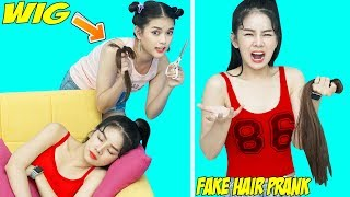23 BEST PRANKS AND FUNNY TRICKS | FUNNY DIY SCHOOL PRANKS / Prank Wars For Back To School by T-FUN