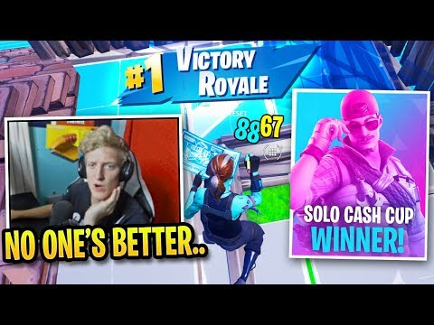 Tfue Shows Off His Solo Skills In DOMINATE Cash Cup Victory...