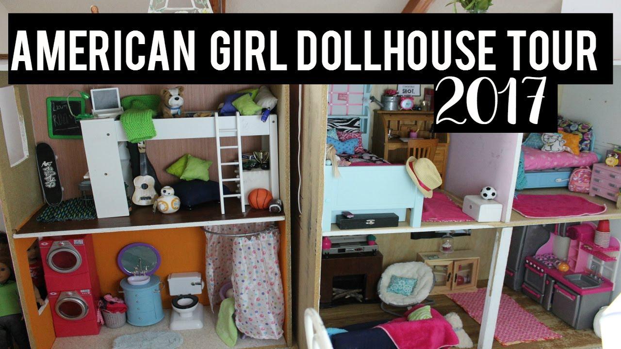 american girl doll house tour 2017 huge youtube