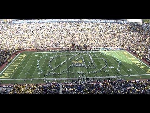 Spartan Marching Band: Marvel Halftime | MSU vs Michigan : 10.17.2015