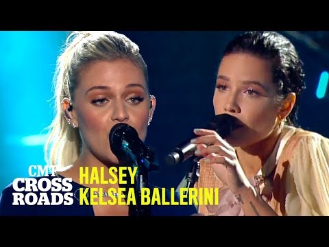 Halsey & Kelsea Ballerini Perform 'Dreams' | CMT Crossroads