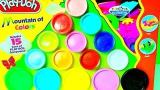Plastilina Play Doh Montaña de Colores-Play Doh Mountain of Colors Mundo de Juguetes